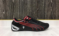 Кроссовки Puma Ferrari Future Cat M2 SF (Black/Red)
