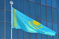 Флаг РК 1,5*3 м (Полиэстр, уличный)
