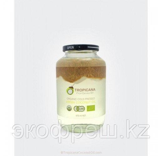 Tropicana кокосовое масло холодного отжима 670 мл