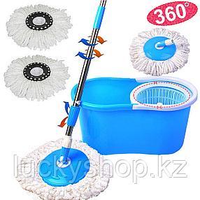Швабра с отжимом  Spinmop mop head rotates, фото 2