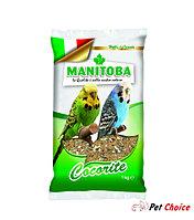 Manitoba зерновая смесь для волнистых попугаев 1 кг.