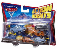 Cars 2 Mattel Action Agents Grem Grimm and Finn McMissile Тачки 2 Грэм Гримм и Финн МакМиссл, фото 1