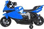 Электромотоцикл спортивный BAW 600, синий, фото 5