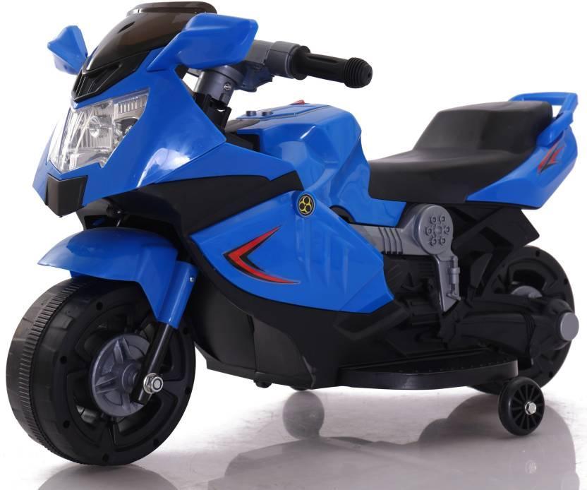 Электромотоцикл спортивный BAW 600, синий
