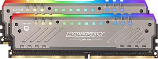 Оперативная память Crucial Ballistix Tactical Tracer RGB 32GB Kit (2x16GB) DDR4 2666MHz UDIMM PC4-21300