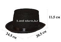 Фетровая шляпа цилиндр на вечеринку 11.5 см