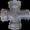 Крестовина чугунная канализационная 90*100*100