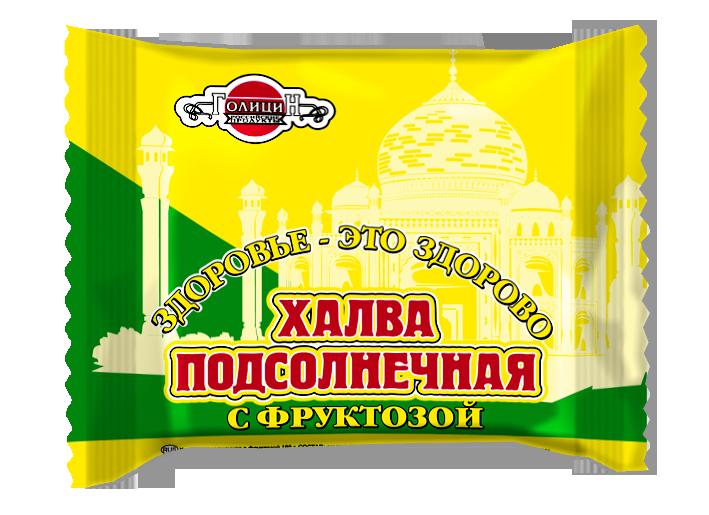 Халва подсолнечная на фруктозе 180 гр. коррекс