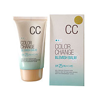 CC крем Lotus Color Change Blemish Balm, Welcos (Корея), Алматы