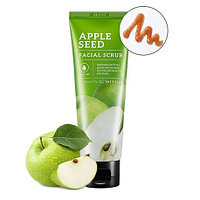 Скраб для лица с семенами яблока MISSHA Apple Seed Facial Scrub, Алматы