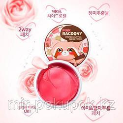 Гидрогелевые патчи для глаз и щек Pink Racoony Hydro-Gel Eye & Cheek Patch , Алматы