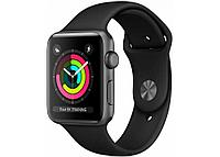 Cмарт часы Apple Watch Series 3 GPS MQL12 42mm 42mm Space Grey Alum.Case with Black Sport Band