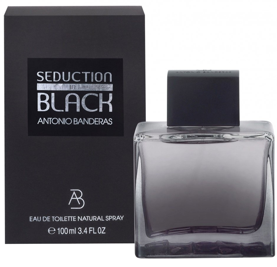 Antonio Banderas Seduction In Black (Антонио Бандерас Седакшн Ин Блэк) Тестер 100 ml (edt)