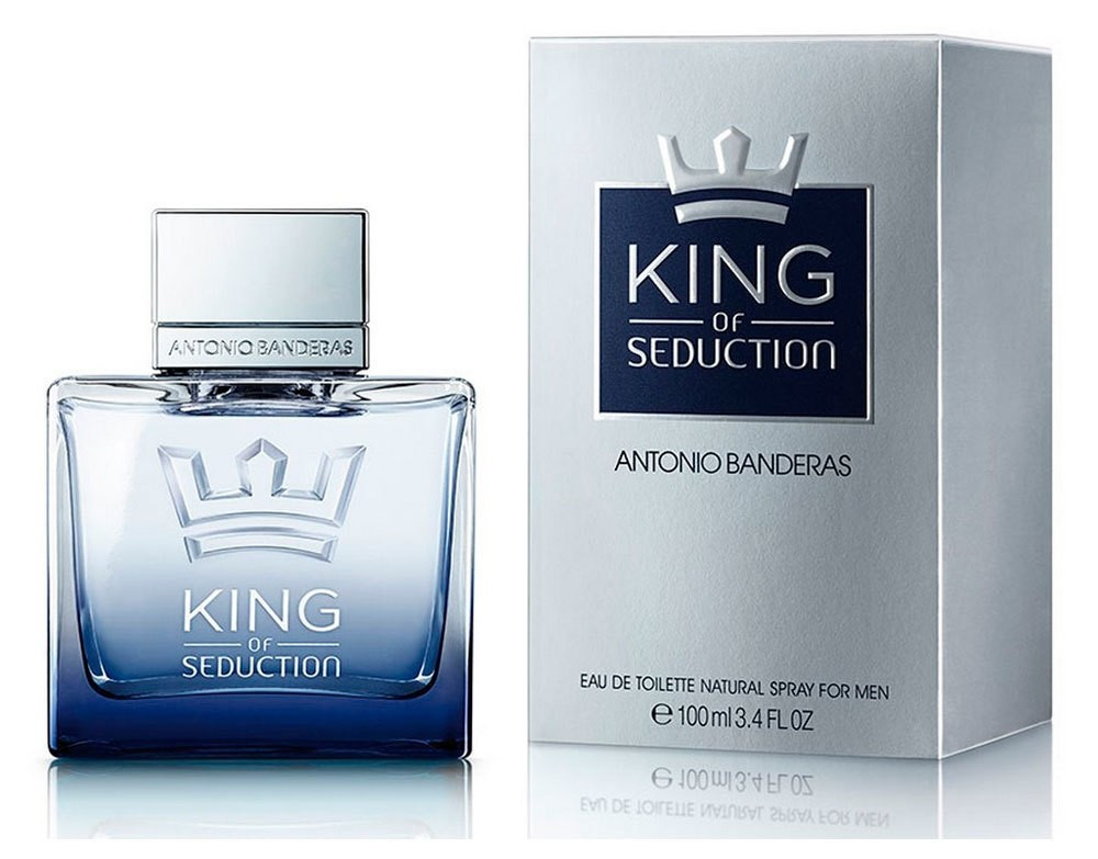 Antonio Banderas King of Seduction (Антонио Бандерас Кинг Оф Седакшн) 100 ml (edt)