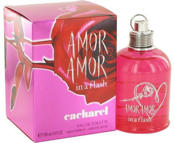 Cacharel Amor Amor In A Flash (Кашарель Amor Amor In A Flash) Тестер100 ml (edt)