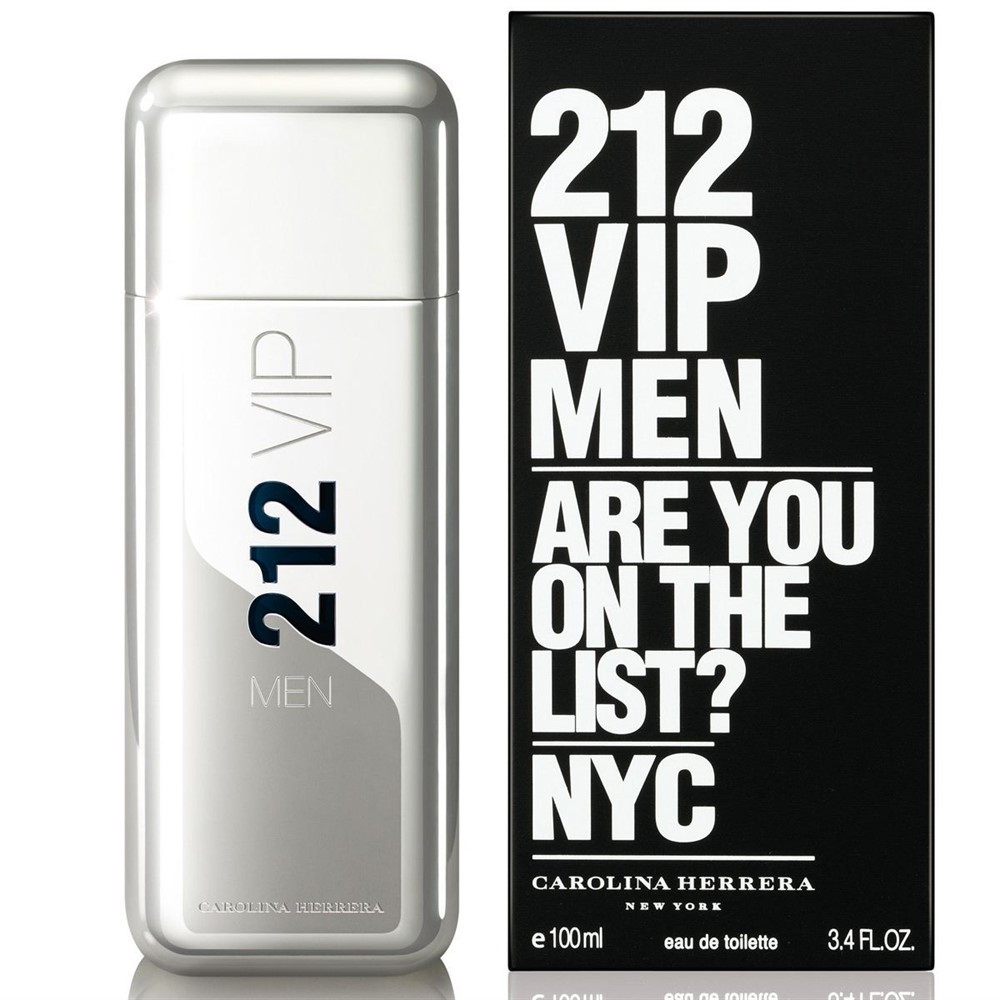 Carolina Herrera 212 Vip Men (Каролина Эррера 212 ВИП Мен) 100 ml (edt)