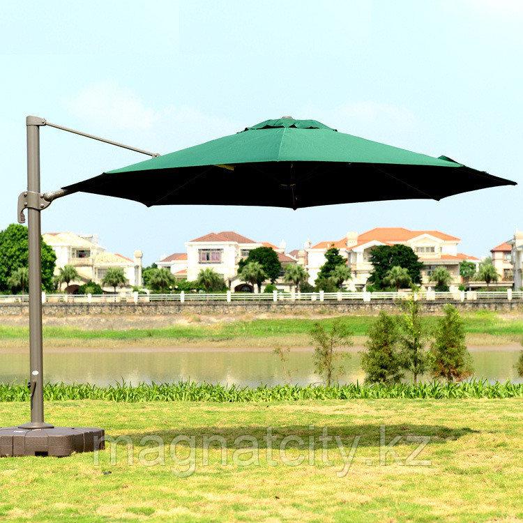 Зонт Banana круглый (d=3.5м), зеленый