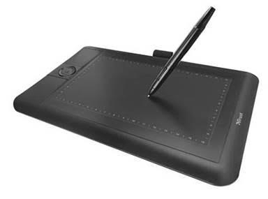 Графический планшет Trust PANORA WIDESCRN TABLET