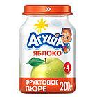 """Пюре """"Агуша"""" фруктовое, яблоко с 4 мес 200  г"""