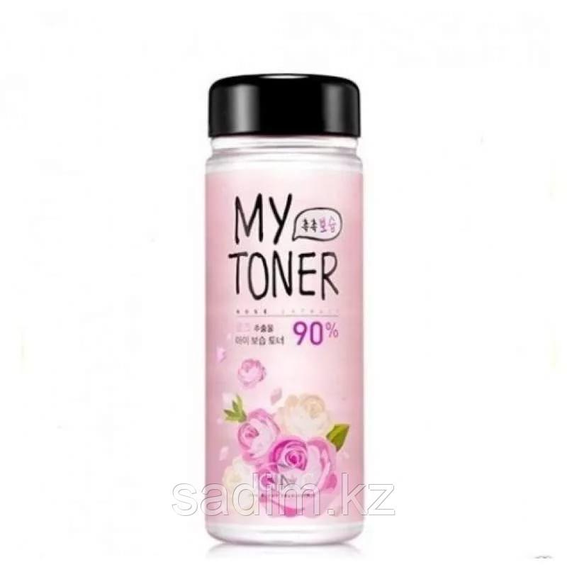 Scinic My Toner Rose 90% - Тонер с экстрактом Болгарской Розы