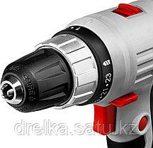 Шуруповерт сетевой ЗУБР ЗСШ-300-2 К, МАСТЕР, 220 В, двигатель переменного тока, 300 Вт, 0-400/0-1400 об/мин., фото 3