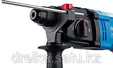 Перфоратор ЗУБР ЗП-22-650 К, SDS-plus, реверс, горизонтальный, 2,3Дж, 0-1950 об/мин, 0-6200уд/мин, 650Вт, кейс, фото 2