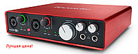 Focusrite Scarlett 6i6 2nd gen. USB 2.0 аудиоинтерфейс