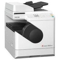МФУ 3в1 TOSHIBA e-Studio2802АМ гибридное устройство размером А4, но формата А3 (копир, принтер, цв. сканер)
