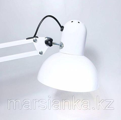 Лампа настольная на струбцине Lampe de bureau 800B (черная, белая), фото 2