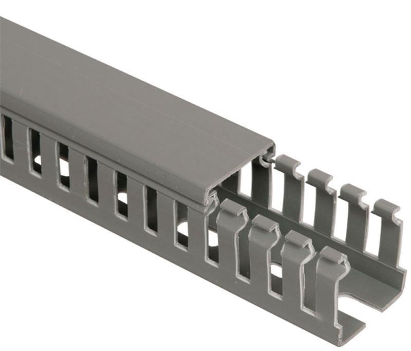 Канал кабельный перфорированный ПВХ 40х60 мм; 60х40 мм (2 м)