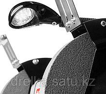 Станок точильный ЗУБР ЗТШМ-200-450, МАСТЕР, двойной, диск 200 х 20 х 32 мм, лампа подсветки, 450 Вт., фото 2