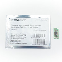 Чип, Europrint, Для картриджей Xerox Phaser 3010/3040, WC3045, 2300 страниц.