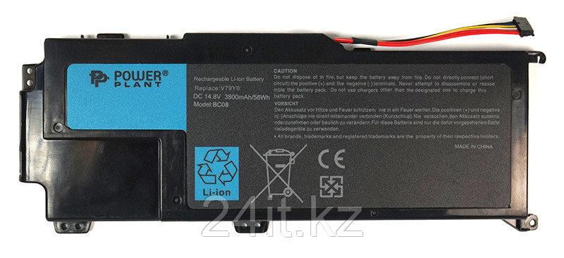 Аккумулятор PowerPlant для ноутбуков DELL XPS 14z (V79Y0) 14.8V 3800mAh