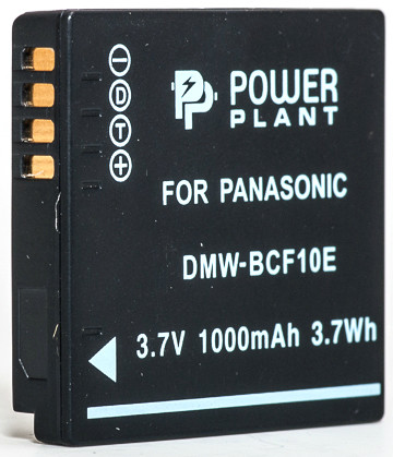 Аккумулятор PowerPlant Panasonic DMW-BCF10E 1000mAh