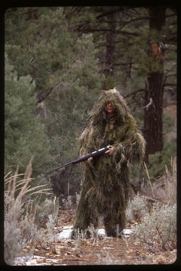 Маскировочный костюм Rothco Bushrag Ultralight Woodland Camo, Цвет: Лиственный лес, Размер: XL/2XL, (65127)