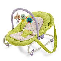 Детский шезлонг Happy Baby Nesty Green