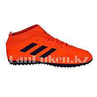 c6f806ee Футбольные бутсы (сороконожки) с носком с шиповкой TF размеры 40-44 черно-