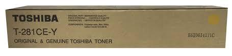 Тонер TOSHIBA T-281C-EY(желтый)