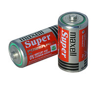 Алкалиновая батарейка Maxell R14 2 card