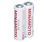 Алкалиновая батарейка Minomoto LR6 2 shrink