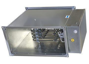 Калорифер прямоугольной для воздуховодов ЭНП 600х300/18