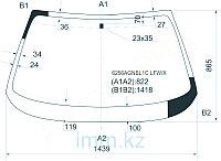 Стекло лобовое в клей OPEL CALIBRA 3D STR 1995-