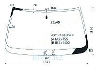 Стекло лобовое в клей OPEL VECTRA A 4D SED, 5D HB 88-95