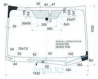 Стекло лобовое с обогревом щеток в клей SUBARU FORESTER FM5 SUV 2012-
