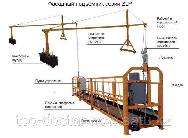 Подъемник фасадный ZLP