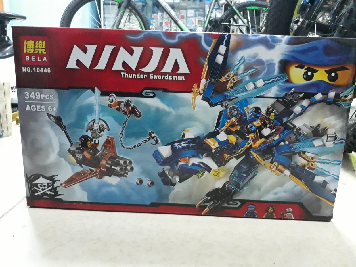 Конструктор Bela Ninja 10446 349 pcs