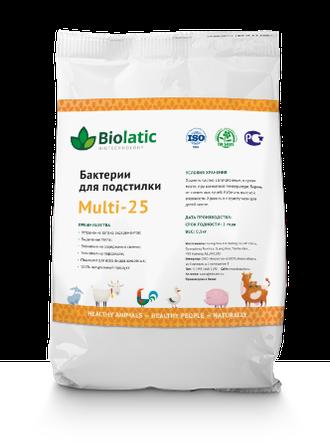 Бактерии для подстилки Biolatic Multi 25 (0.5 кг)