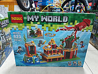 Конструктор Decool My world 823 432 pcs 2 в 1