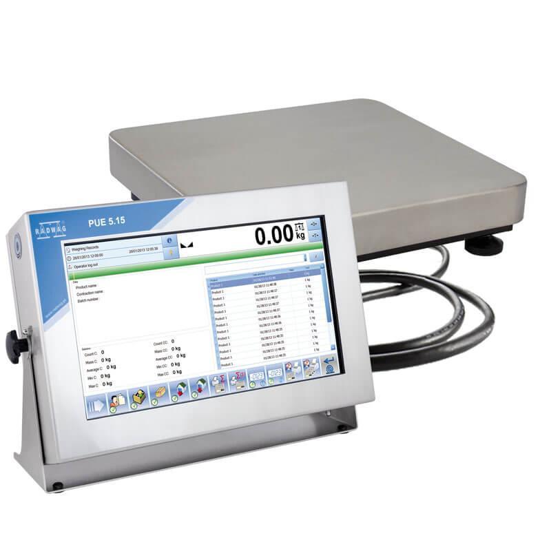 Платформенные высокоточные весы с внутренней калибровкой TMX15R.30.F1.K