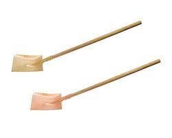Лопата совковая прямоугольная с удлиненной рукояткой искробезопасная 1450 мм.